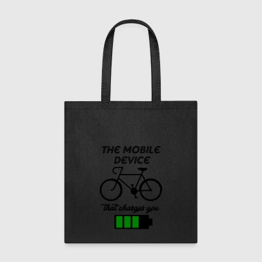 the mobile device - Tote Bag