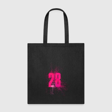 Twenty Number 28 Art - Tote Bag