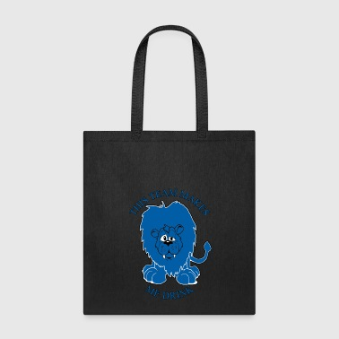 Detroit This Team Makes Me Drink Lions Football Apparel - Tote Bag