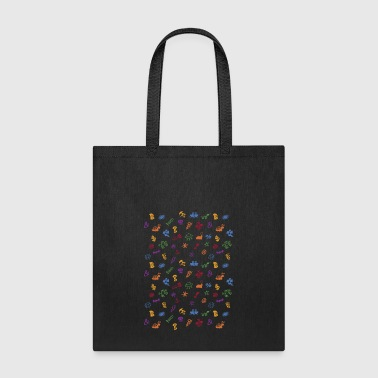 Graphic bad words pattern - Tote Bag