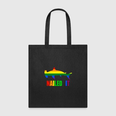 Nailed it Hammerhead Shark LGBT - Tote Bag