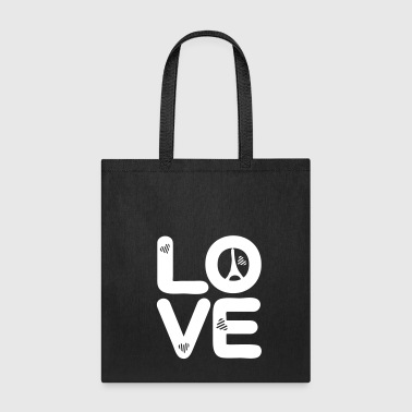 LOVE Paris - Tote Bag