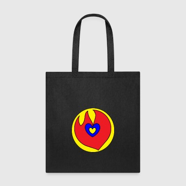 I Love U FLAME 7 - Tote Bag