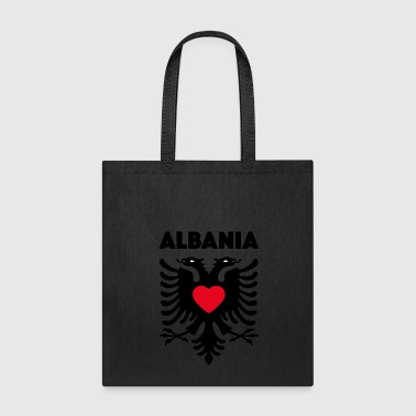 albania heart - Tote Bag