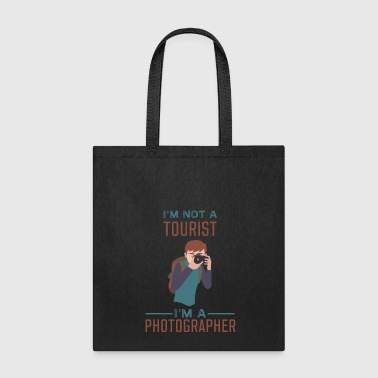 Tourist Photographer - Not a Tourist - Tote Bag