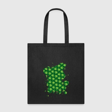 Leaf Pattern - Tote Bag