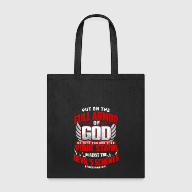 put on the full armor - Tote Bag