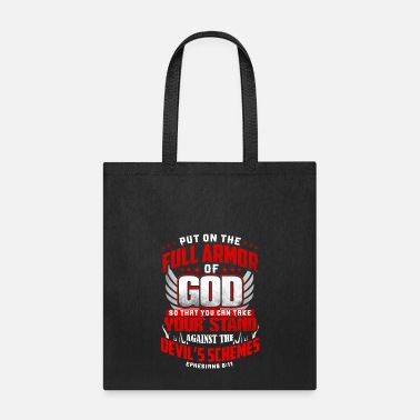 Bible put on the full armor - Tote Bag