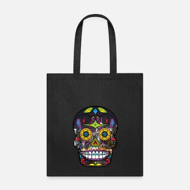Skull Sugar Skull - Tote Bag