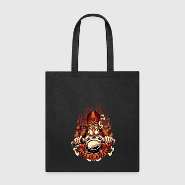 Motor Race Motor Race Pin-Up Girl - Tote Bag