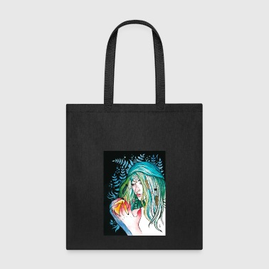 Evergreen Watercolor Portrait - Tote Bag