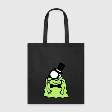 sir gentleman gentleman cylinder monocle rich glib - Tote Bag
