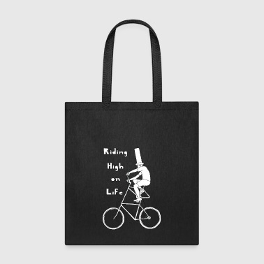 riding high on life - Tote Bag