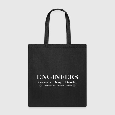 Engineers Develop Mens T-Shirt - Tote Bag