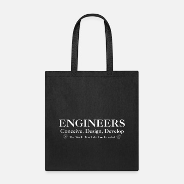 Development Design Engineer Engineers Develop Mens T-Shirt - Tote Bag
