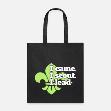 Boy I came I scout I lead - Tote Bag