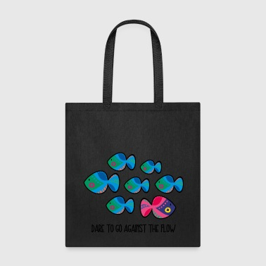 Against The Flow - Tote Bag
