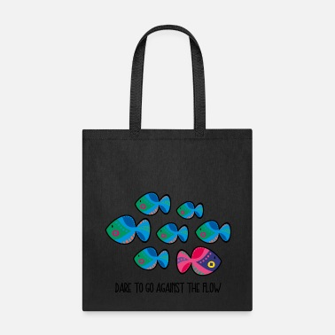 Against Against The Flow - Tote Bag