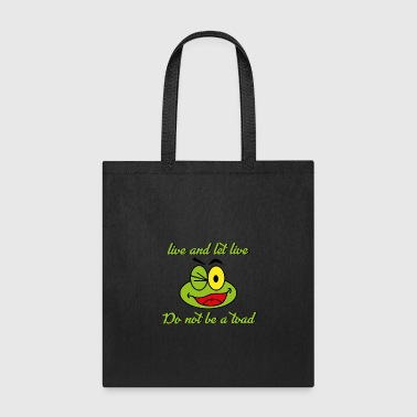 Toad Toad - Tote Bag