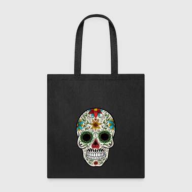 Sugar Skull - Day of the - Tote Bag