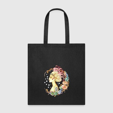 mermaid tattoo - Tote Bag