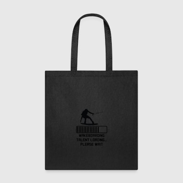 Wakeboarding Talent Loading - Tote Bag