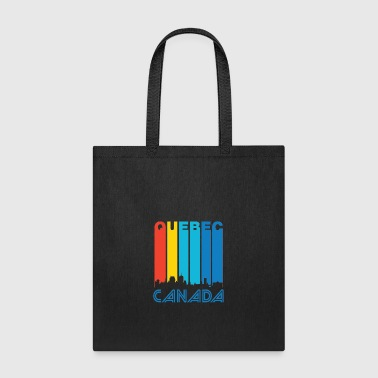 Retro Quebec Skyline - Tote Bag