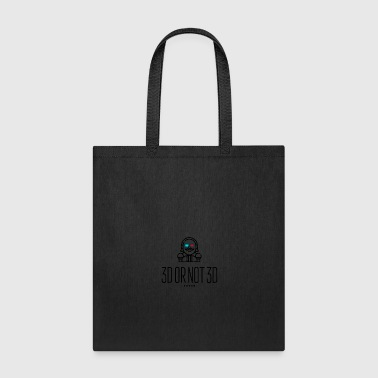 3D or not 3D - Tote Bag