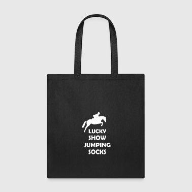 Show Jumping lucky show jumping socks - Tote Bag
