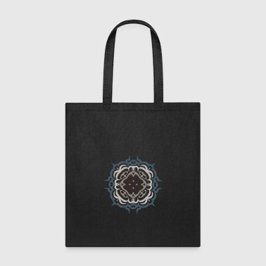 Geometry flourish Mandala geometry Holy mandala mantra - Tote Bag