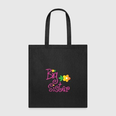 Big Brother Big Sister Big Sister Flowers - Tote Bag