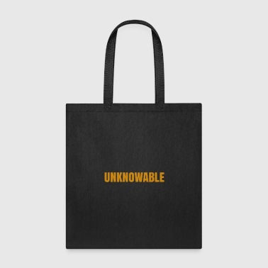 UNKNOWABLE - Tote Bag
