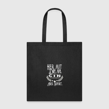 Tlc Drink more Gin. path to happiness, gift idea prese - Tote Bag