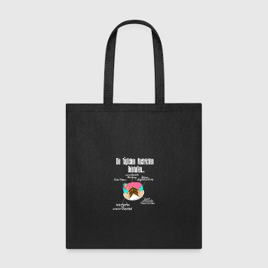what news contain, gift idea present - Tote Bag