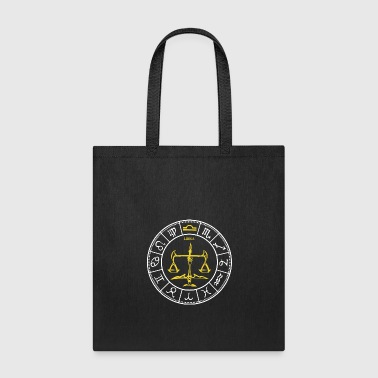 Zodiac Sign Libra - Tote Bag