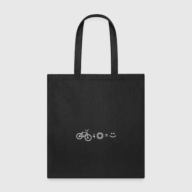15 Bicycle Sun Smiley - Tote Bag