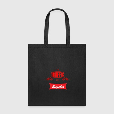 no traffic with bicycles - Tote Bag