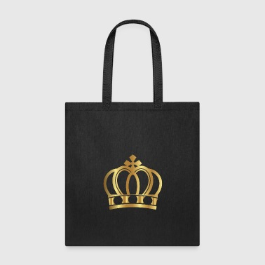 Golden Crown Gold Crowns Lifestyle King Queen Gift - Tote Bag