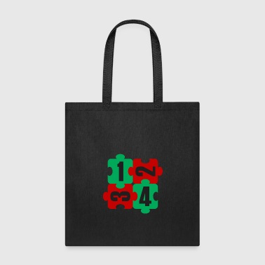 Pair Pair puzzle - Tote Bag