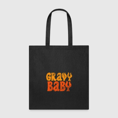 Feet Thanksgiving Gravy Baby 4000x4000 - Tote Bag