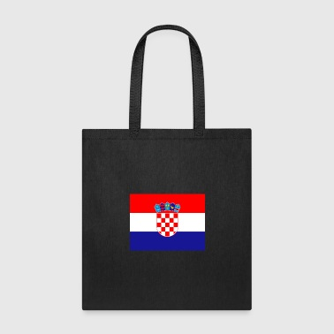 Bandera Flag of Croatia (hr) - Tote Bag