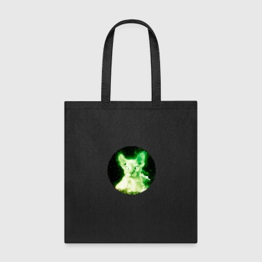 Sphynx Cat Shirt Nebula Space Hairless Cat T Shirt - Tote Bag