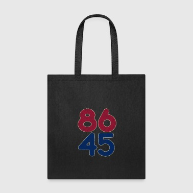 86 45 Anti Trump T Shirt Impeach the 45th Retro Tee Shirt - Tote Bag