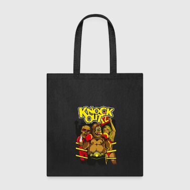 Knock Out knock Out gorilla - Tote Bag