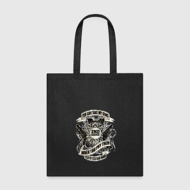 US American Right To Bear Arms 2nd Amendment USA Quote Awesome - Tote Bag