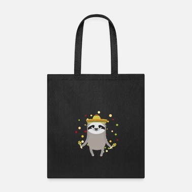 Fiesta Fiesta Mexico Sloth Party - Tote Bag