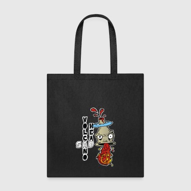 Volcano Head - Tote Bag