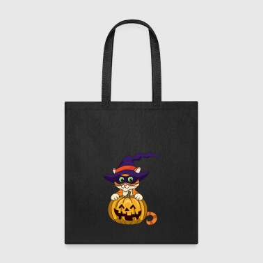 Pumpkin Halloween Monster Zombie Horror - Tote Bag