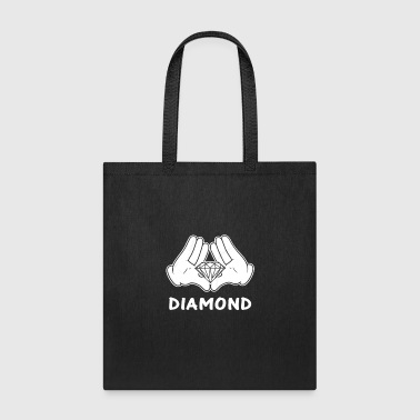 mickey hands diamond - Tote Bag