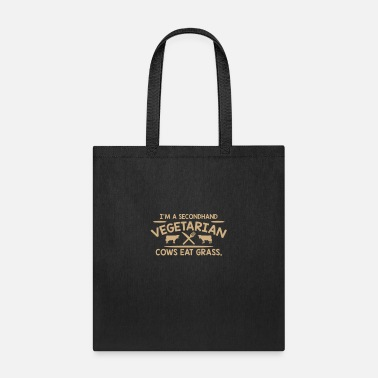 Second Hand Im A Second Hand Vegetarian Cows - Tote Bag